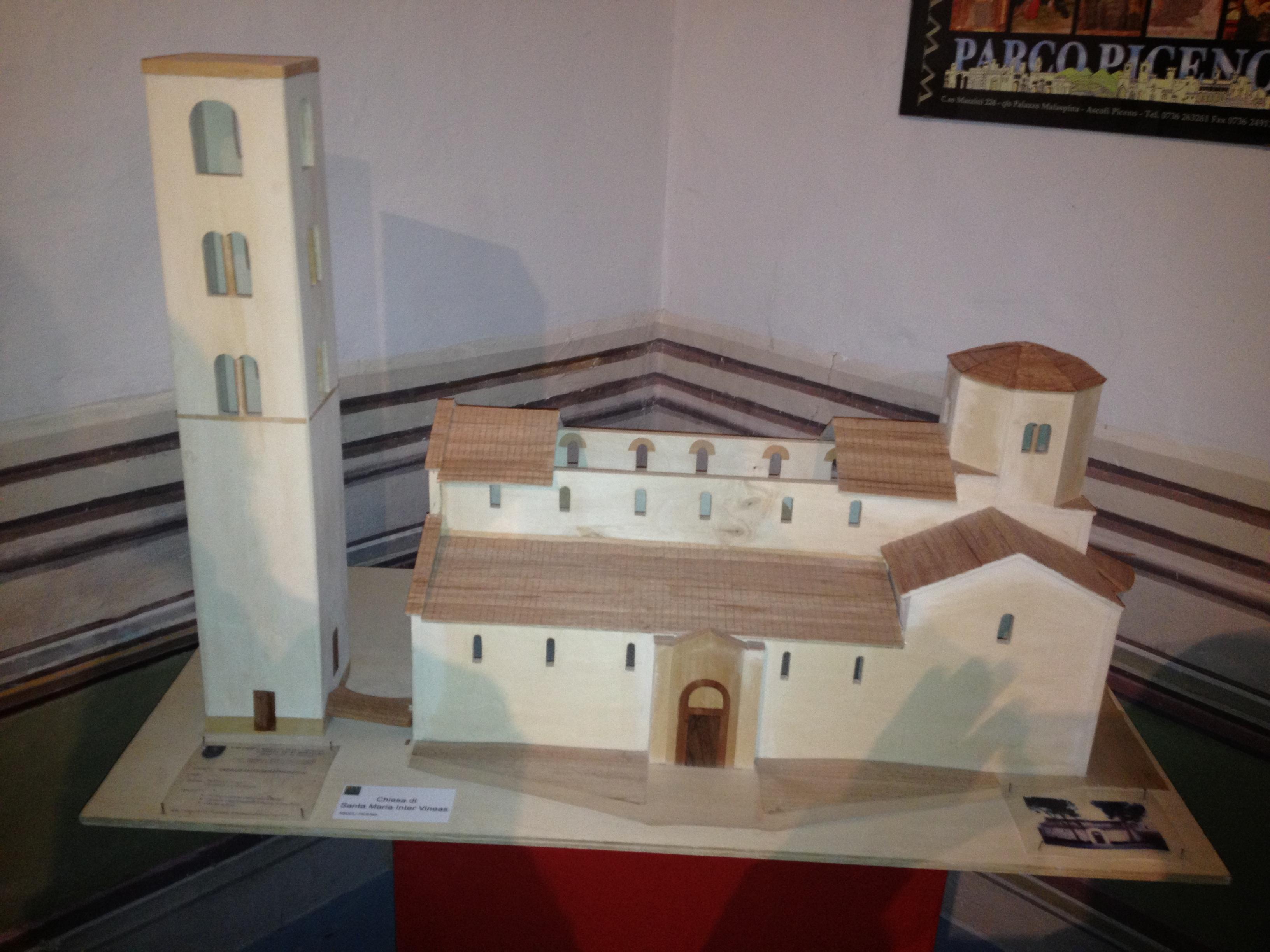 plastico chiesa santa maria inter veneas