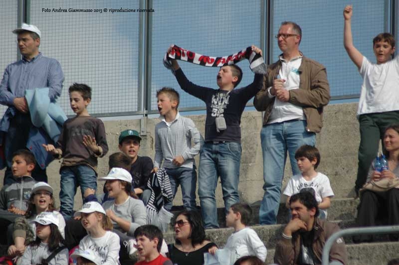 Ascoli-Modena, giovani tifosi (giammusso)