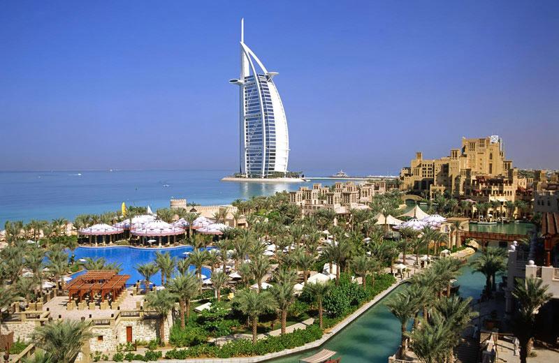 Una panoramica di Dubai