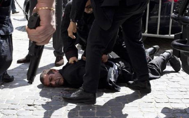 L'attentatore, Luigi Preiti (fonte: Ansa)