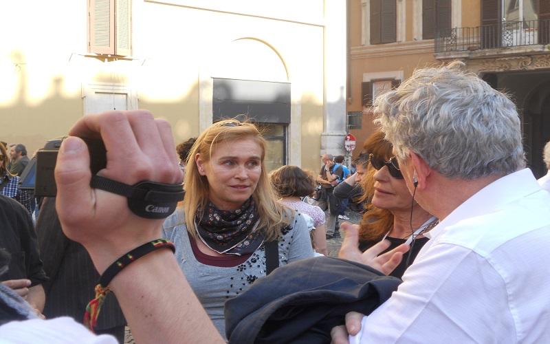 Mita Medici e Marina Giulia Cavalli