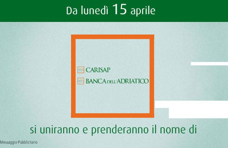 Carisap e banca dell'Adriatico