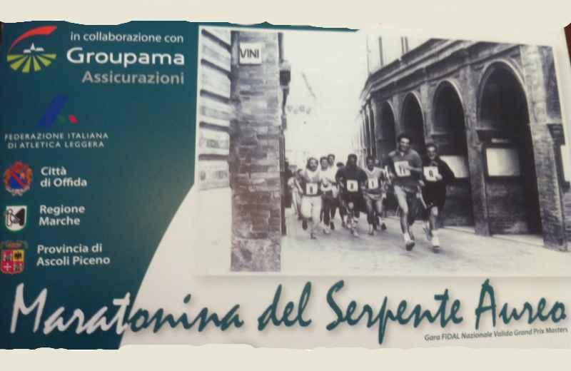 Maratonina del Serpente Aureo di Offida, quinta edizione
