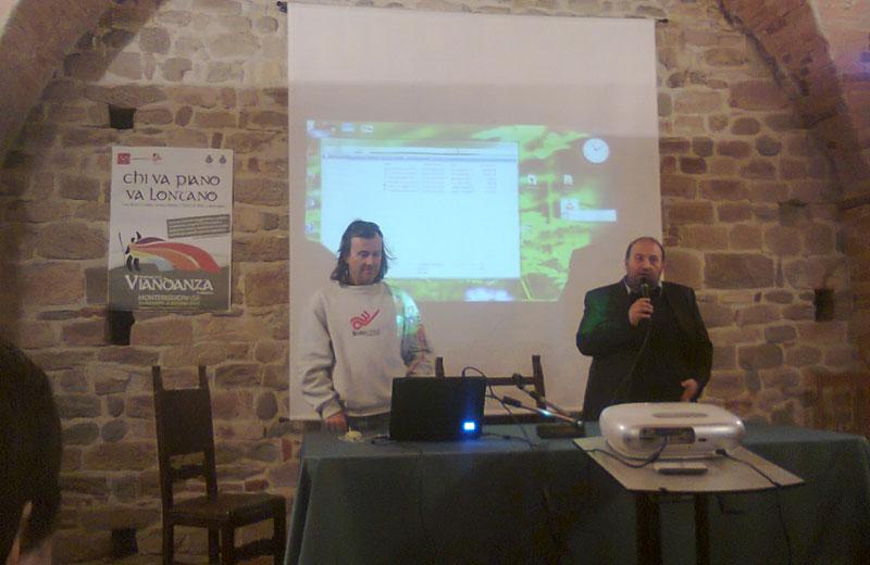 Presentazione del Cammino Franscescano al Festival della Viandanza