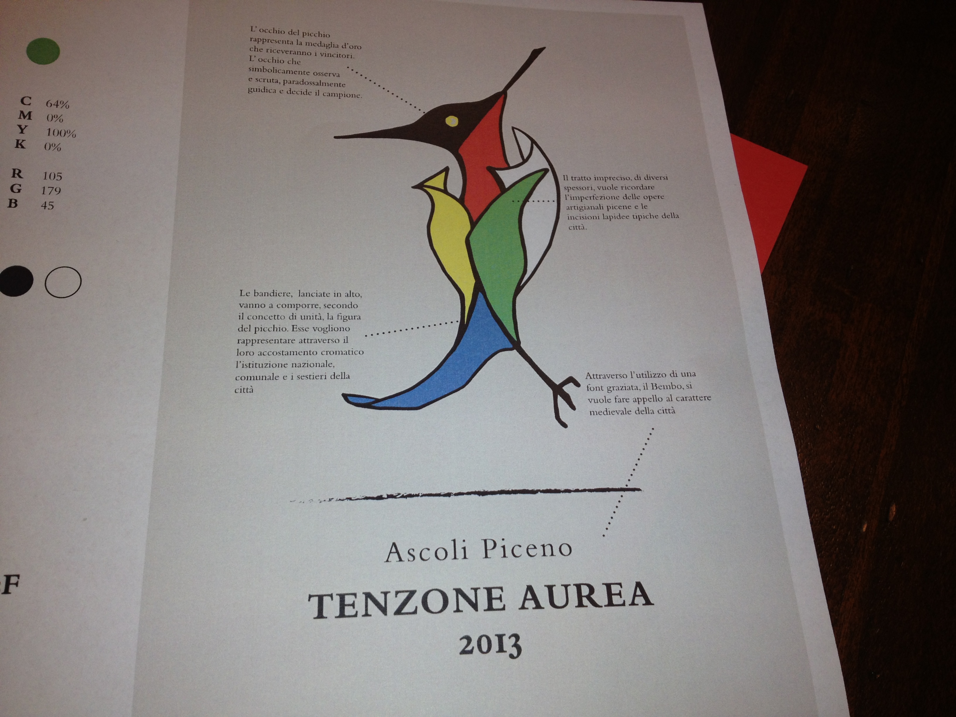 il logo vincitore della tenzone aurea