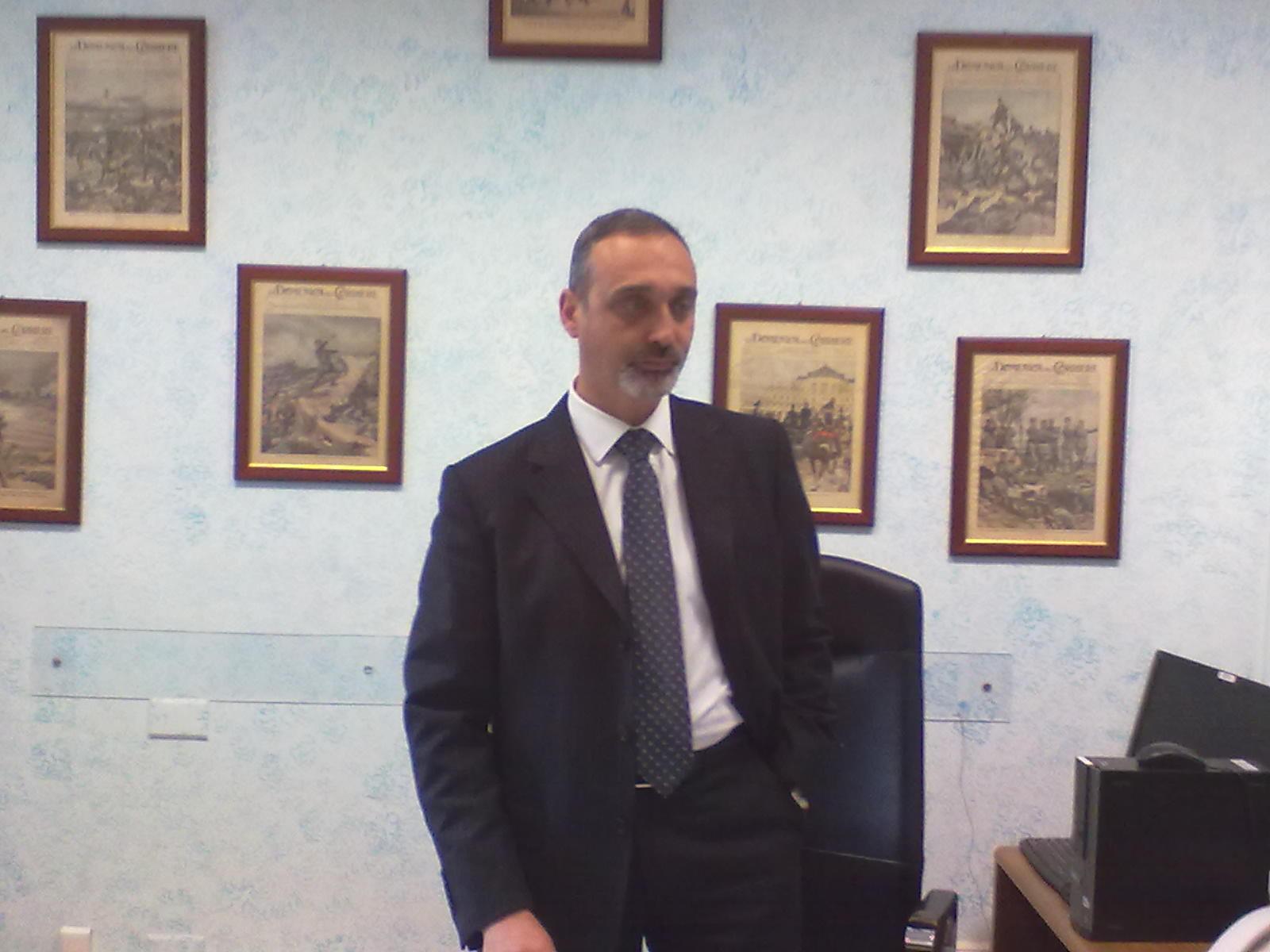 Roberto Di Benedetto Capo della Squadra Mobile