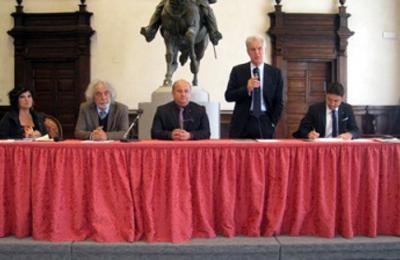 Oro e Unesco, firma per la costituzione del comitato promotore