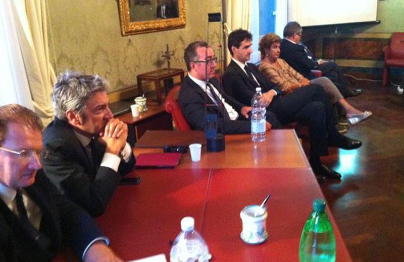 L'incontro presso la Fondazione Carisap