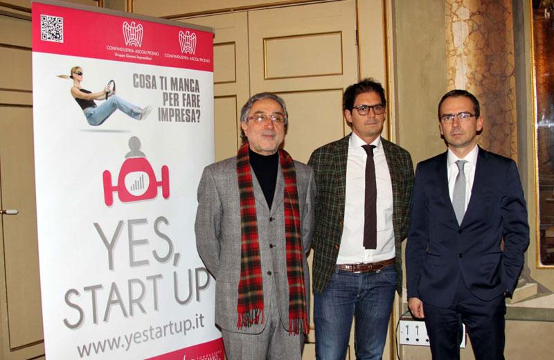 Yes Start Up, gli organizzatori
