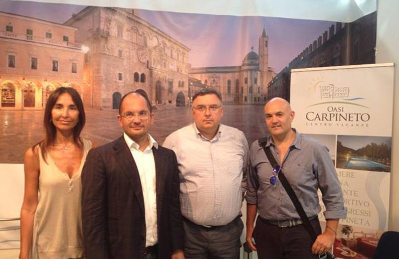 Il sindaco Castelli al Meeting di CL a Rimini