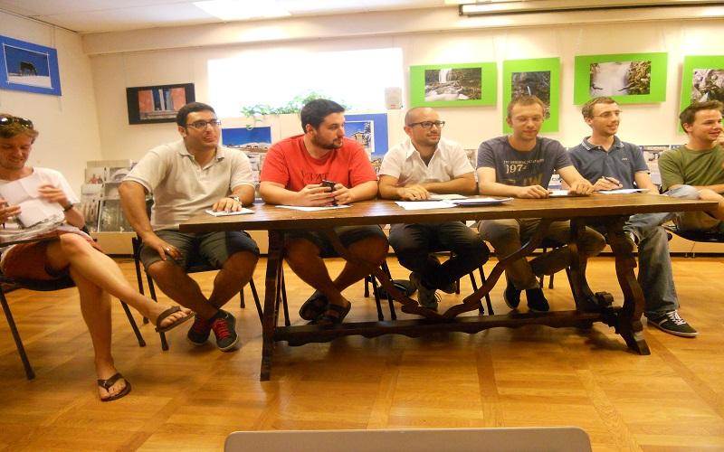 Alcuni esponenti Gd presentano il progetto