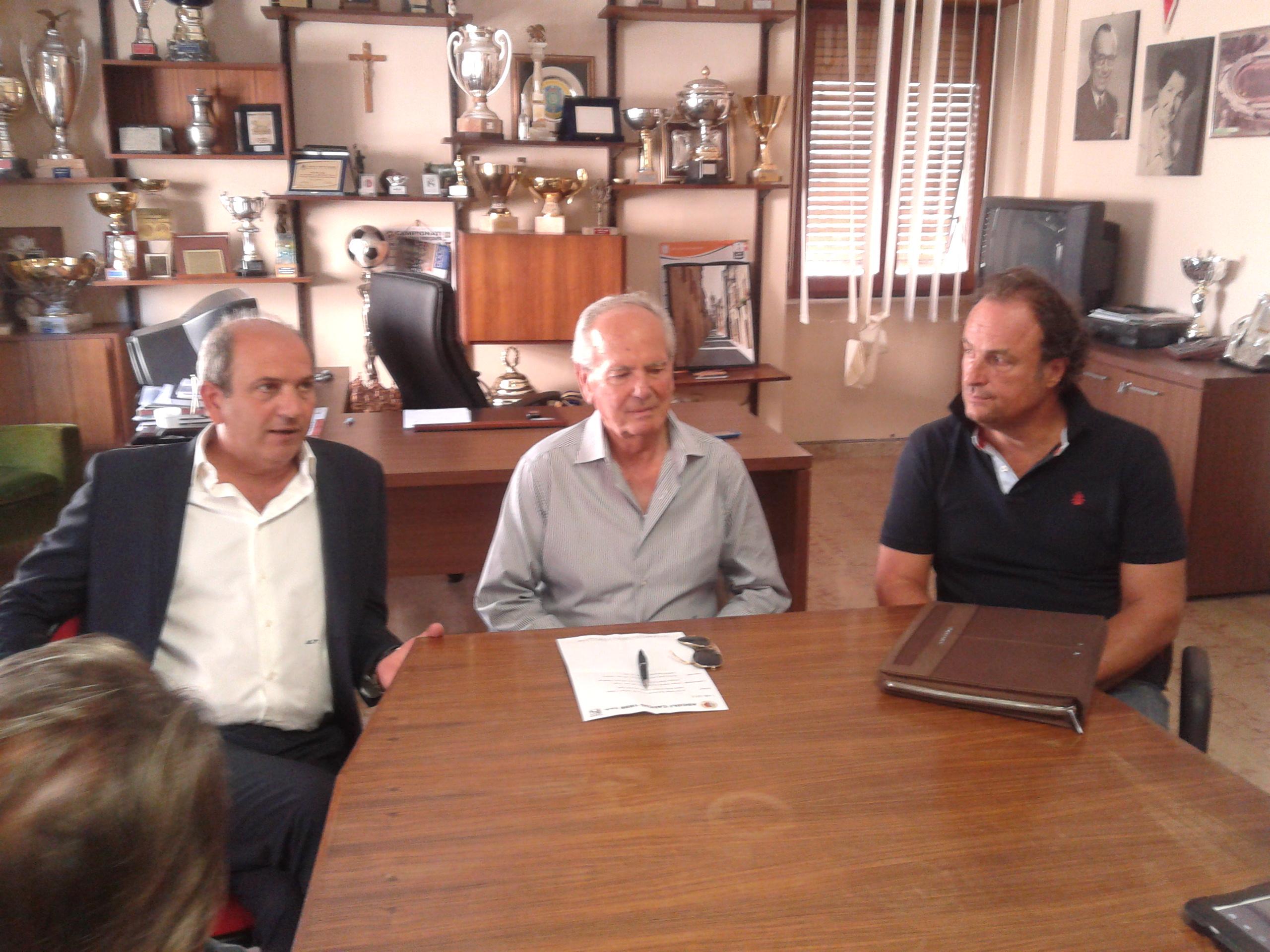 Fabiani, Benigni e Stallone in conferenza