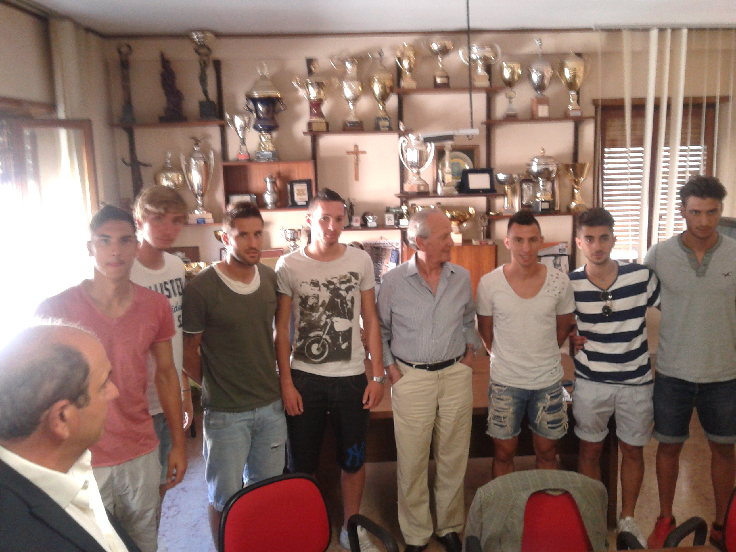 Foto di gruppo con Benigni