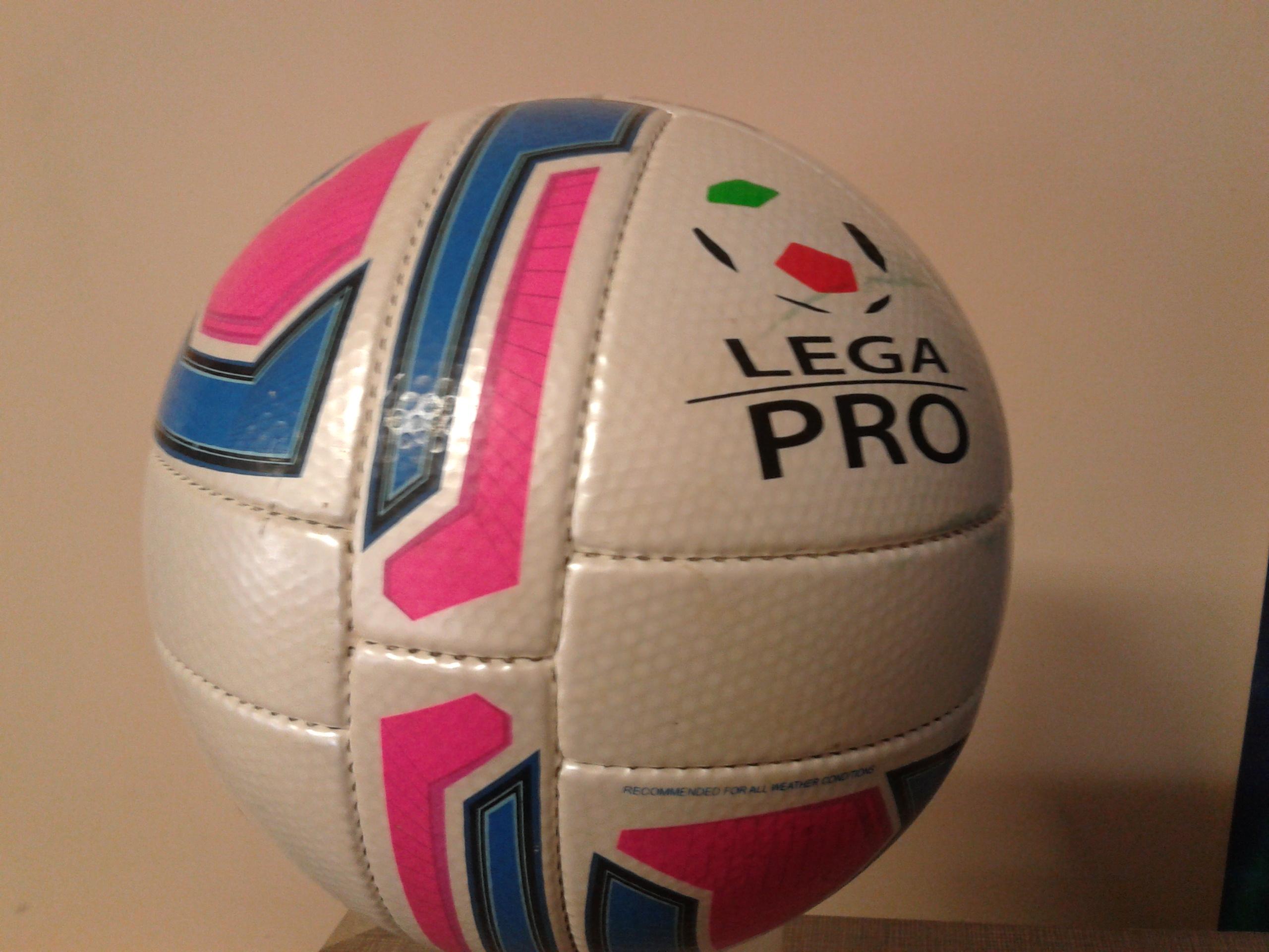 Il nuovo pallone del prossimo campionato