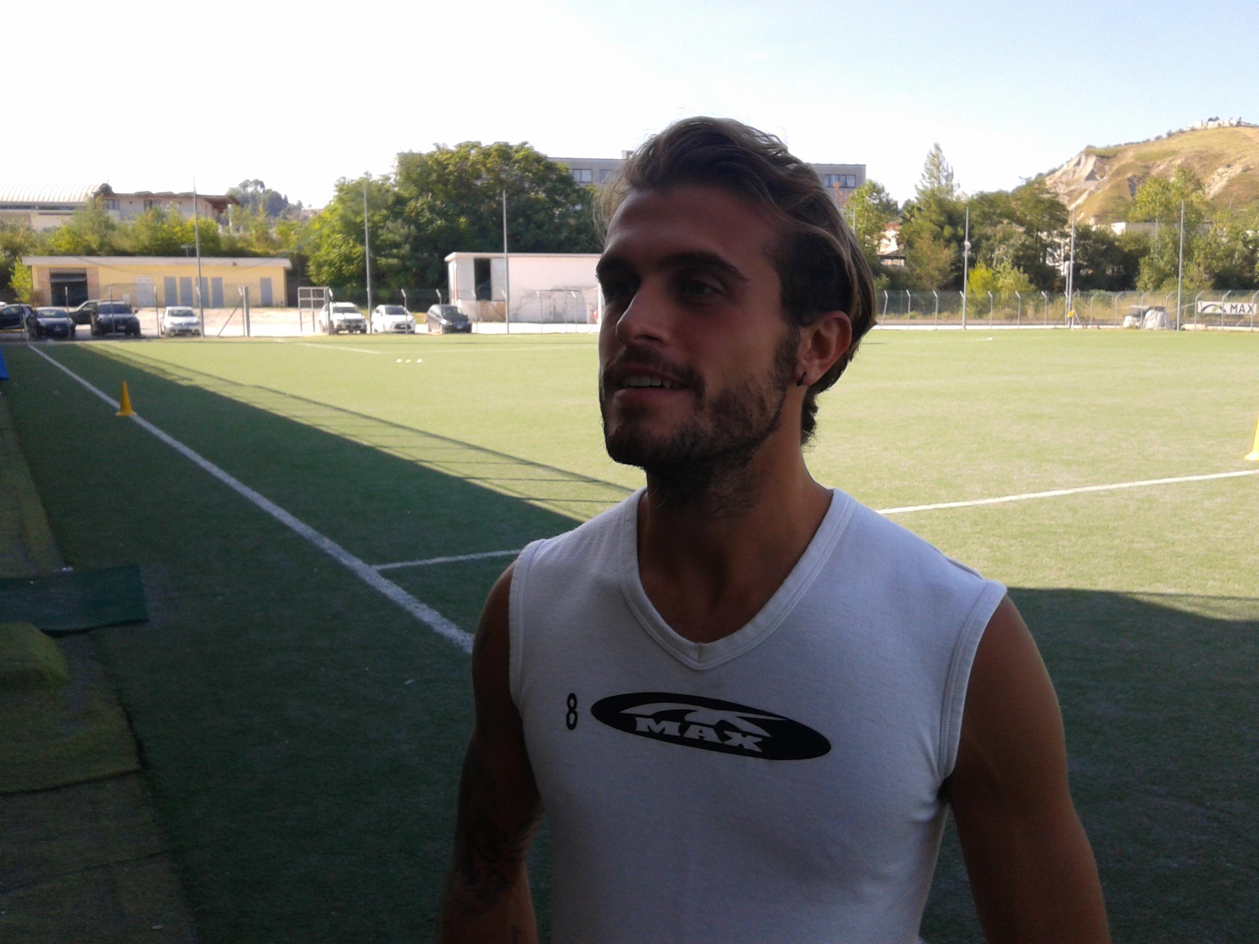 Davide Colomba, 25 anni, secondo anno con il Picchio
