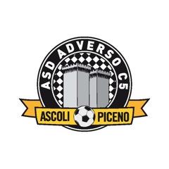 Il logo dell' Adverso Ascoli calcio a 5