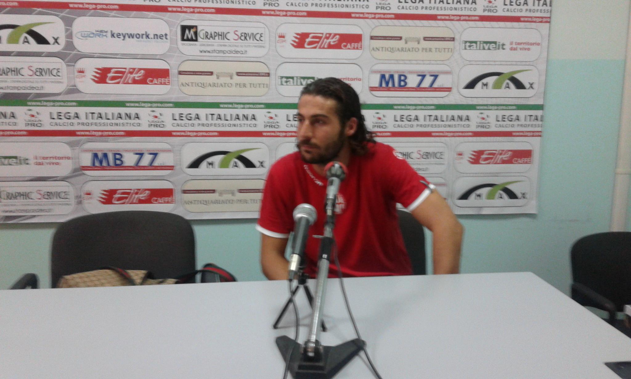 Francesco Morga, quest'oggi capitano del Rimini