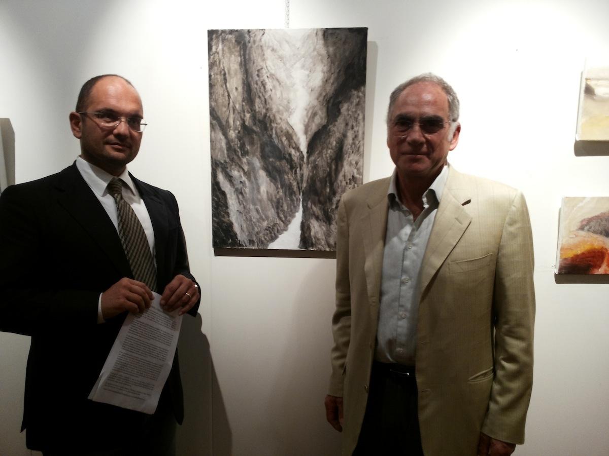 Il sindaco Castelli e Mike Freedman