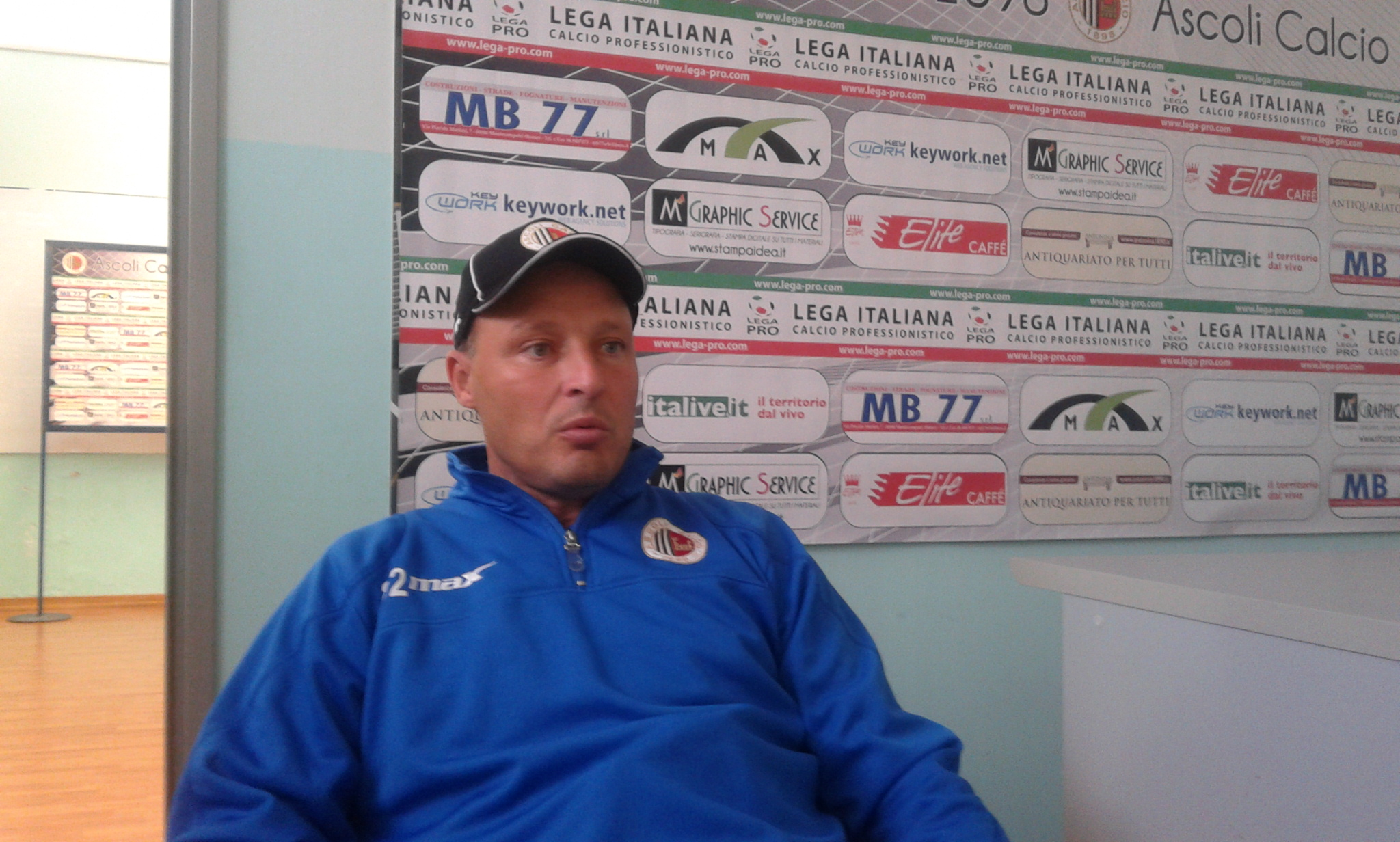 Il tecnico bianconero alla vigilia del match