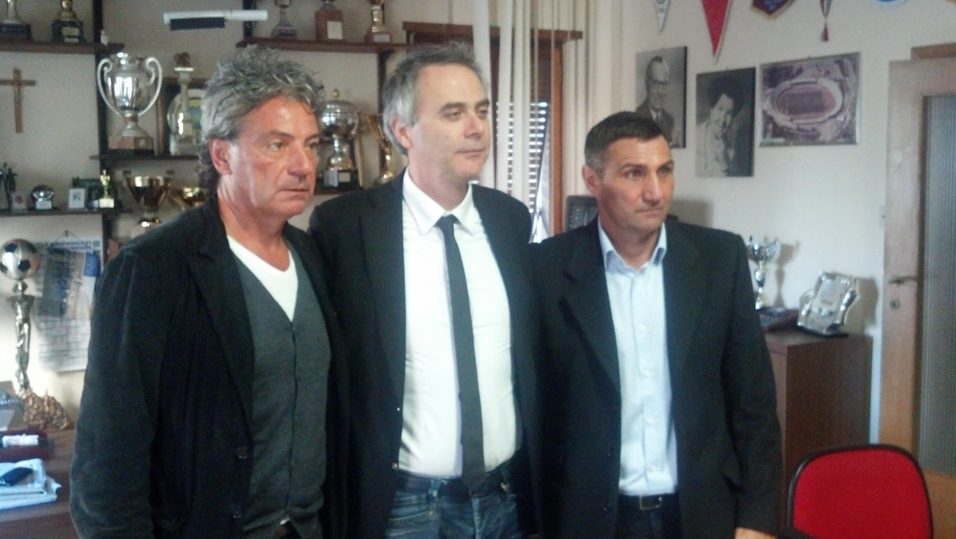 Alberto Mariani, Guido Manocchio e Bruno Giordano