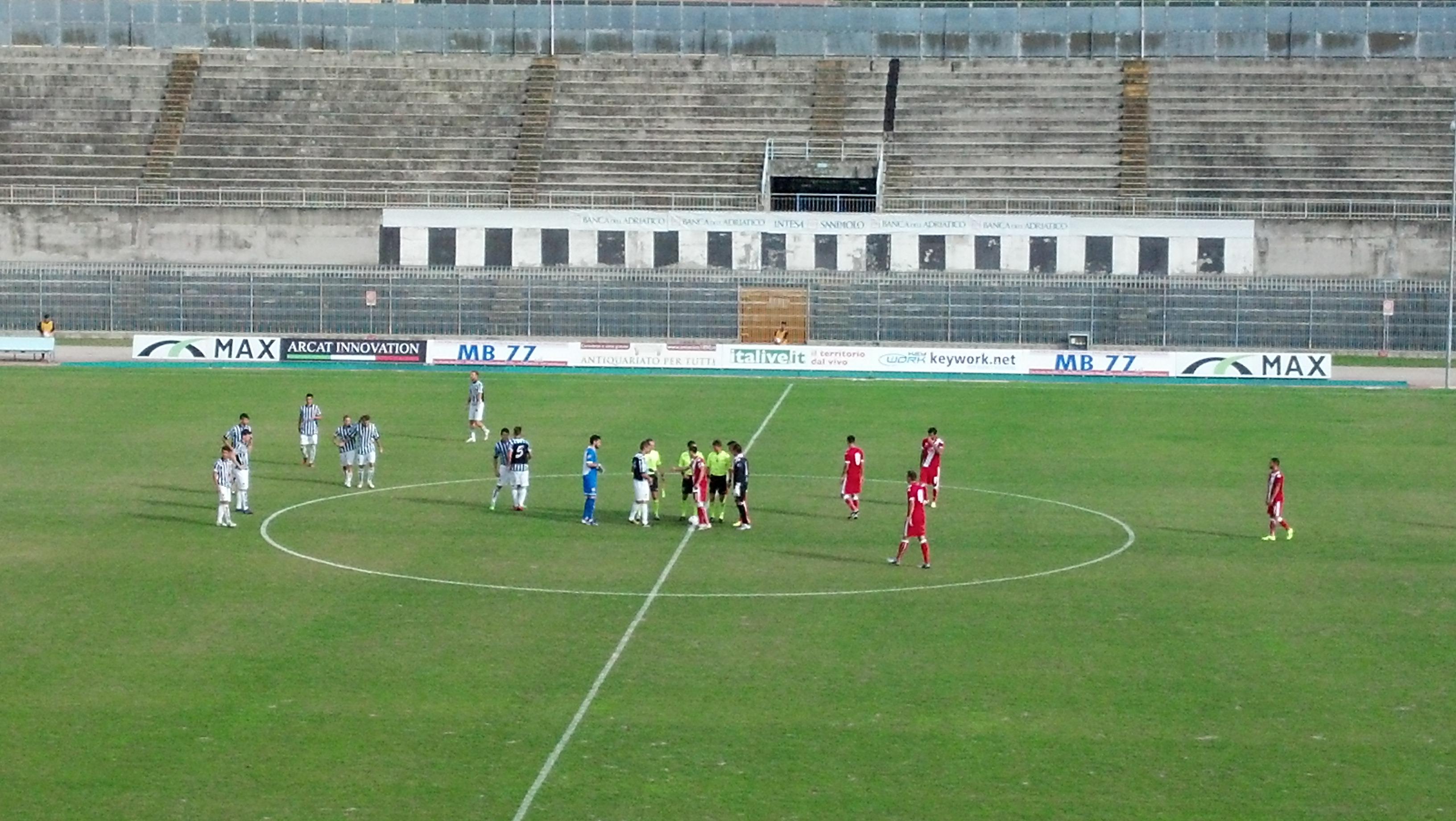 Ascoli-Grosseto di Coppa Italia al via