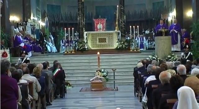 I funerali del vescovo Silvano Montevecchi