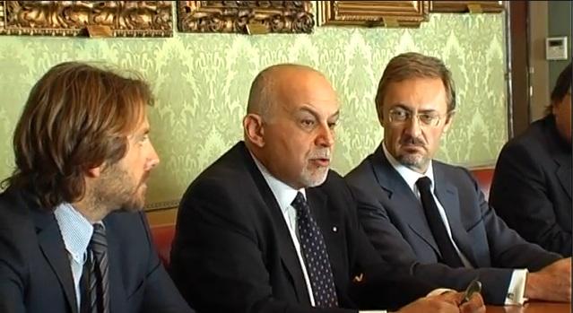 Pierluigi Raimondi, Achille Buonfigli e Vincenzo Marini Marini