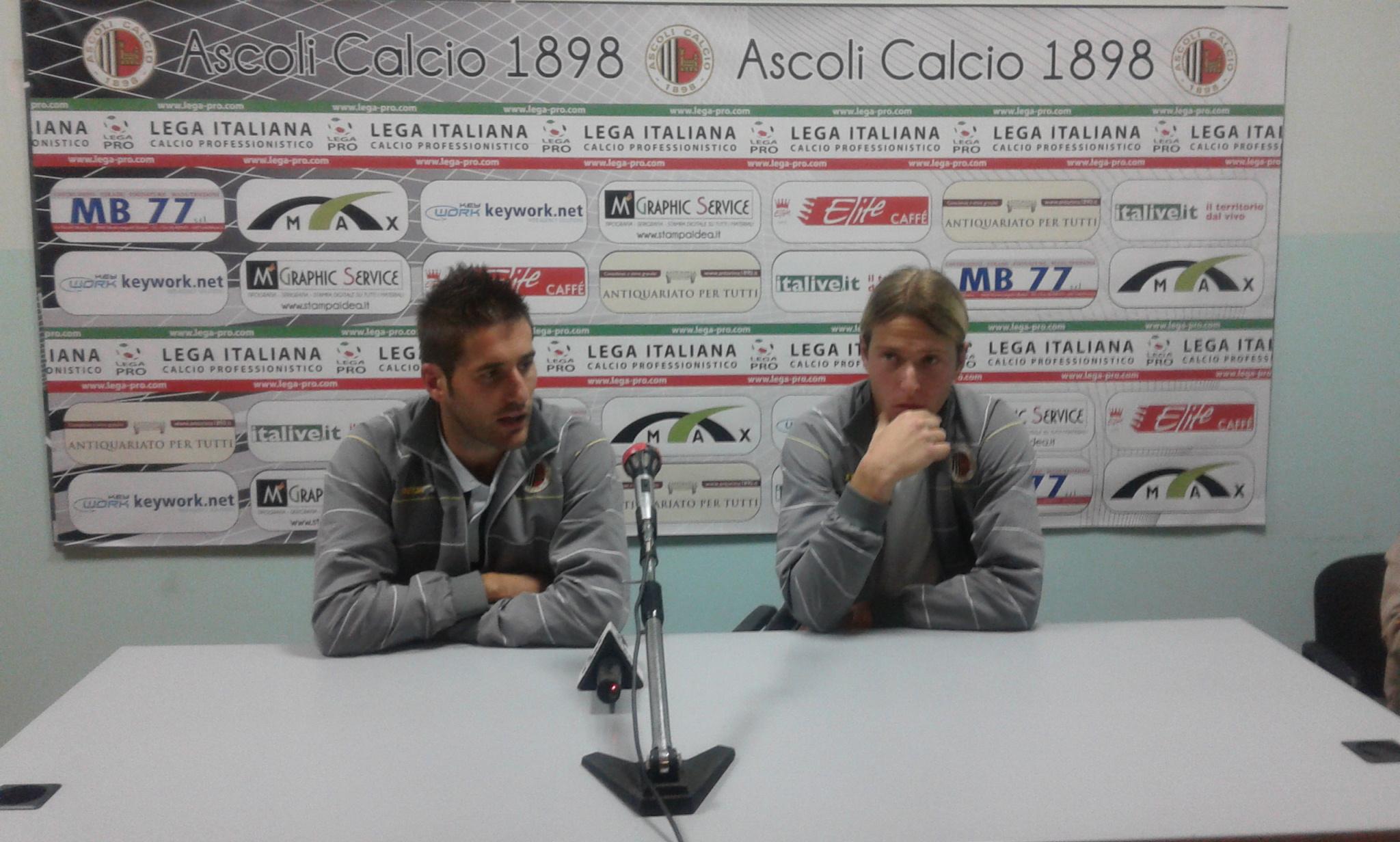 Simone Malatesta e Giorgio Capece