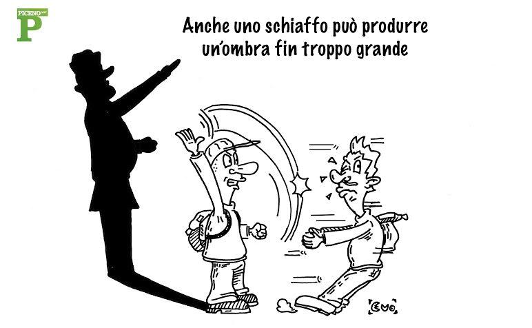 Una vignetta di Evo