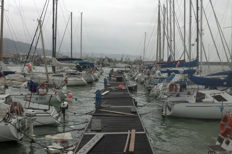 il porto turistico di San Benedetto