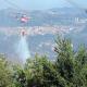 Elicottero in azione (foto CDC vigilfuoco Ascoli Piceno)
