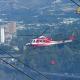 Elicottero in volo (foto CDC vigilfuoco Ascoli Piceno)