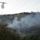 Fiamme e fumo (foto CDC vigilfuoco Ascoli Piceno)