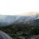 Incendio a Rosara (foto CDC vigilfuoco Ascoli Piceno)