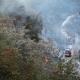 Pompieri sul posto (foto CDC vigilfuoco Ascoli Piceno)