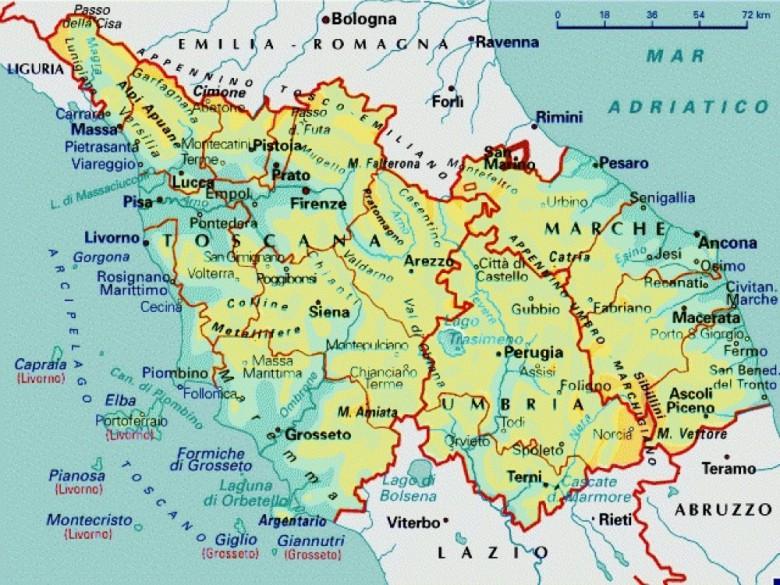 Cartina Politica Regione Marche.Il Capoluogo Delle Marche Diventera Firenze Piceno Oggi