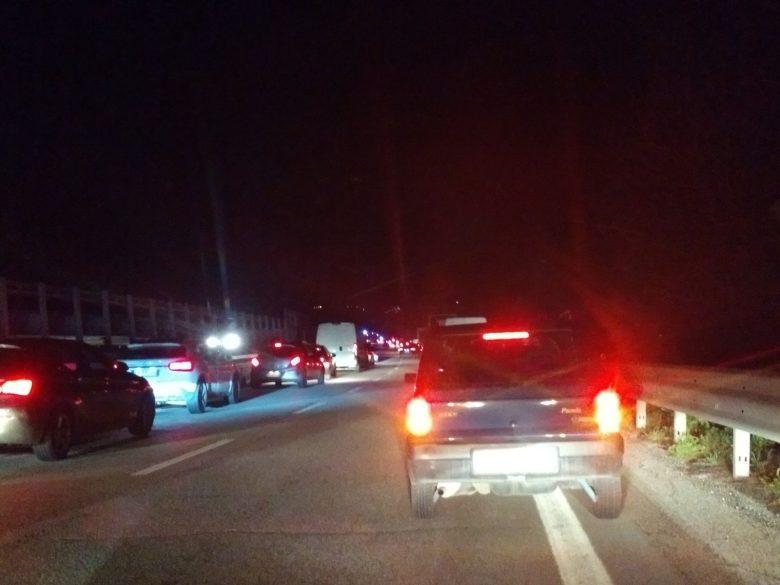 Traffico in tilt sull'Ascoli-Mare 12 marzo