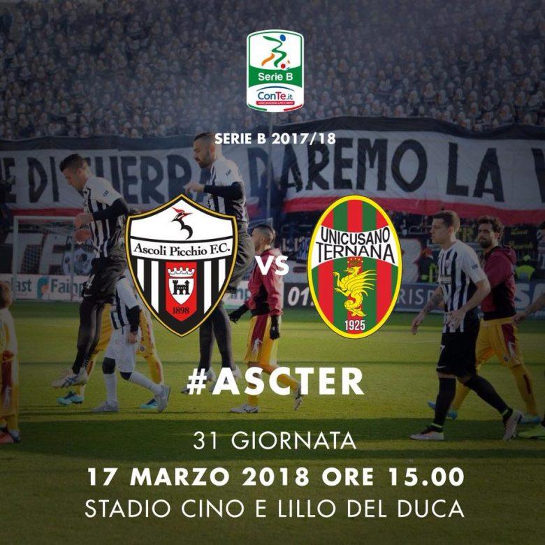 Ascoli - Ternana (foto pagina Facebook Ascoli Picchio)