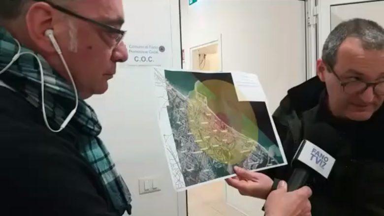 A Fano è in corso l'evacuazione di circa 23 mila persone