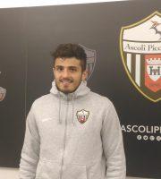 Gianluca Carpani centrocampista Ascoli Picchio (foto Chiara Poli)