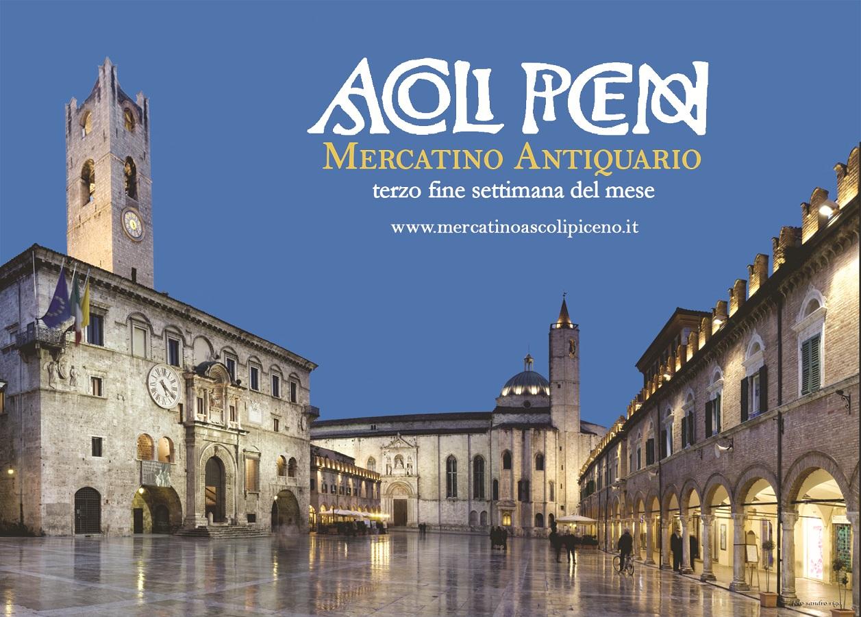 Torna il Mercatino Antiquario ad Ascoli Piceno, appuntamento il 16 e 17 novembre - Piceno Oggi