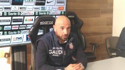 Calabro allenatore Carpi (foto Chiara Poli)