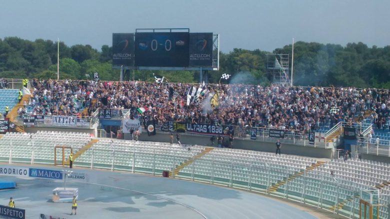 Pescara-Ascoli, i tifosi bianconeri