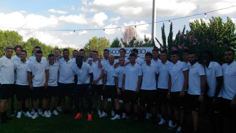 Ascoli Calcio, raduno luglio 2018