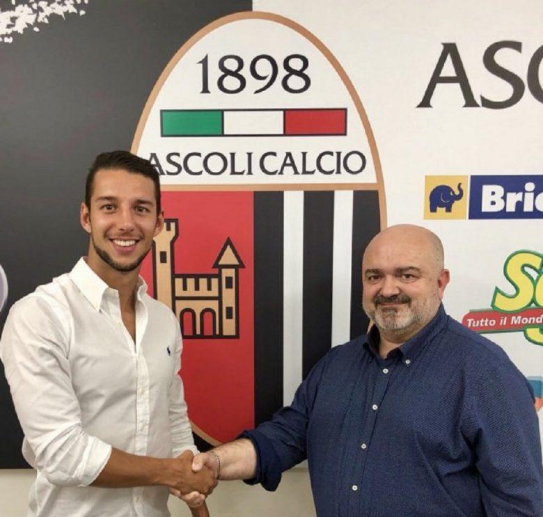Cavion, Ascoli Calcio