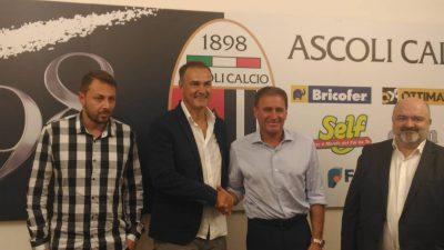 Giuliano Tosti e Vivarini Ascoli Calcio