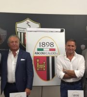 La nuova proprietà dell'Ascoli Calcio in conferenza stampa