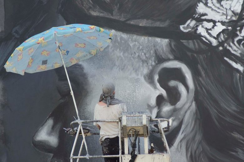 Gomez, artista (Foto di Ettore Exe Air Malaspina)