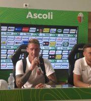 Ardemagni e Laverone, Ascoli Calcio (foto Chiara Poli)