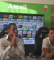 Cavion e Ganz, Ascoli Calcio (foto Chiara Poli)
